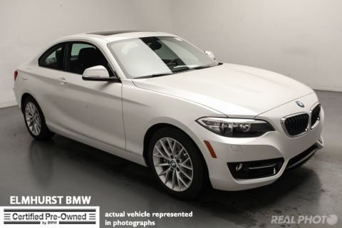 Certified Pre-Owned 2016 BMW 2 Series 228i xDrive Coupe AWD