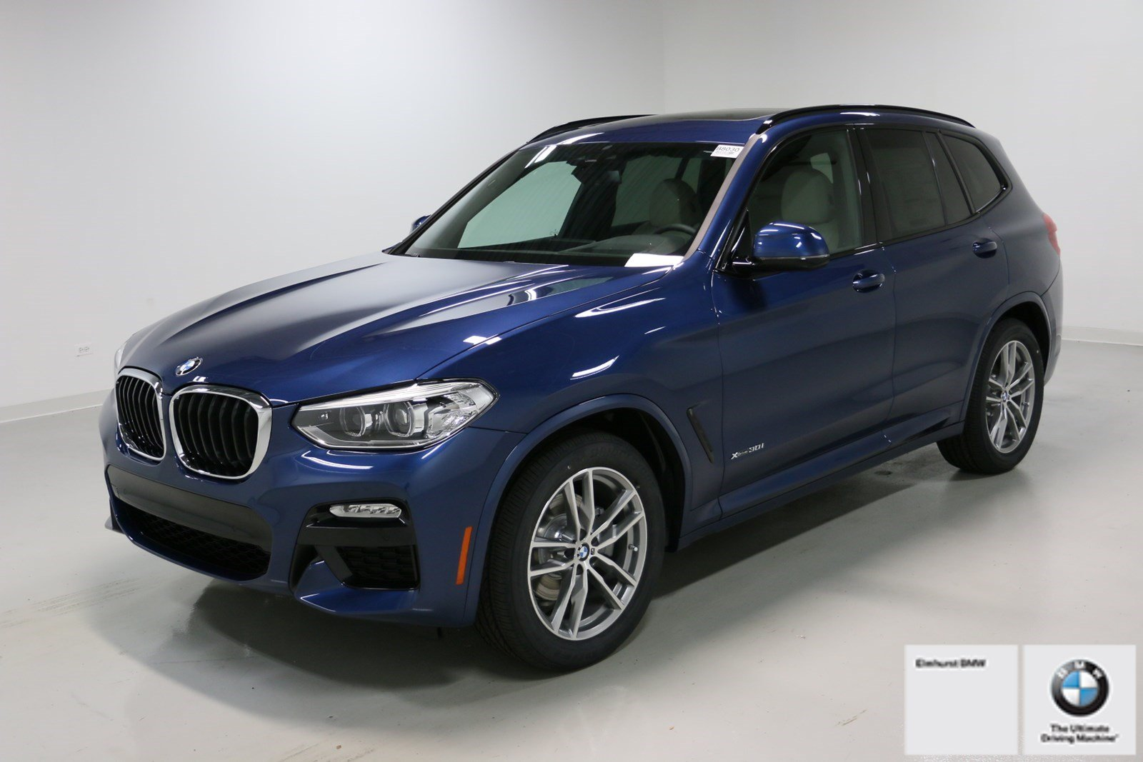 new 2018 bmw x3 xdrive30i sport utility in elmhurst b8030. Black Bedroom Furniture Sets. Home Design Ideas