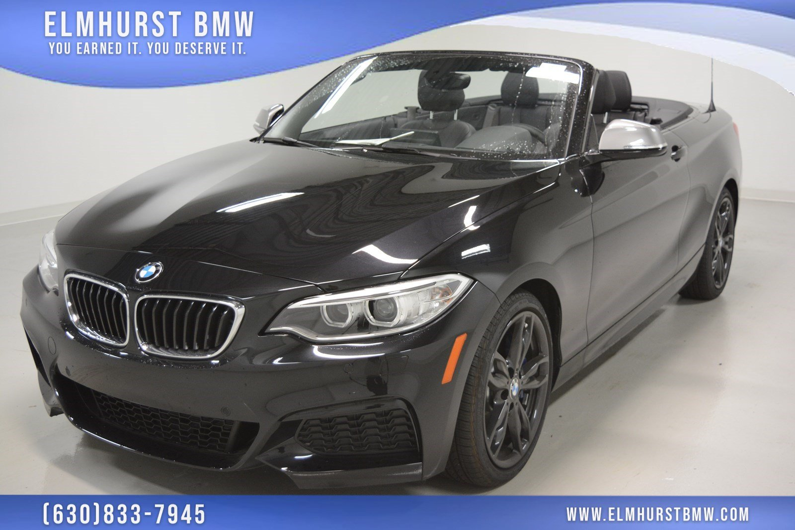 Pre-Owned 2017 BMW 2 Series M240i xDrive Convertible