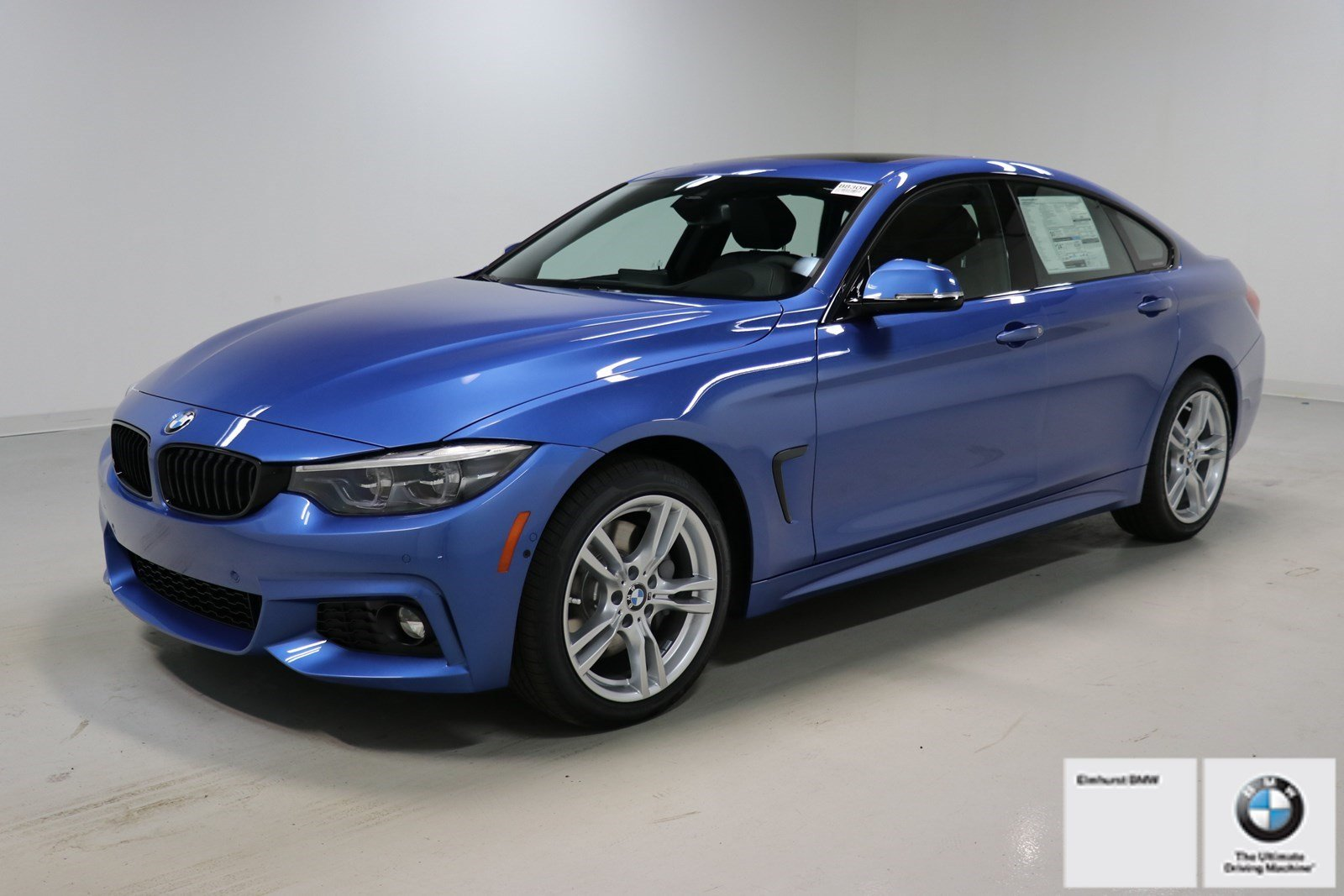 New 2019 Bmw 4 Series 440i Xdrive Gran Coupe Hatchback In Elmhurst B8308 Elmhurst Bmw