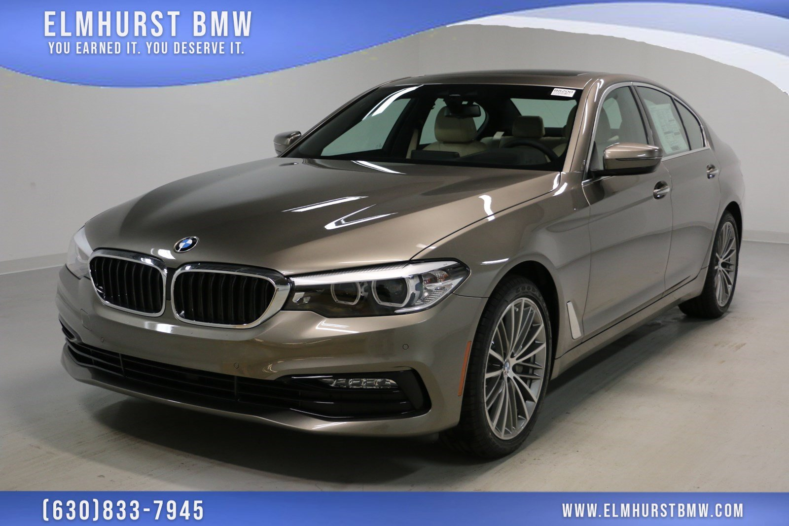 pre-owned 2018 bmw 5 series 530i xdrive 4dr car in elmhurst #b8200