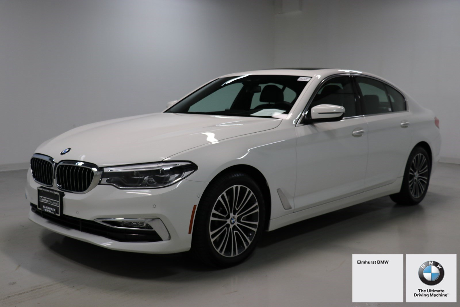 Certified Pre Owned 2017 BMW 5 Series 540i XDrive