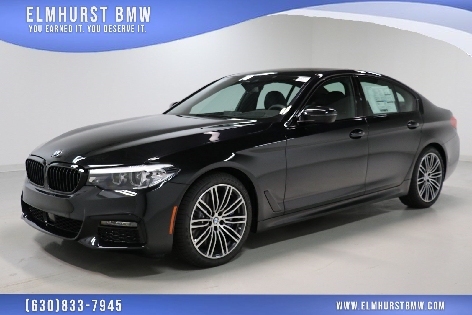 Pre Owned 2019 Bmw 5 Series 540i Xdrive 4dr Car In Elmhurst B8466